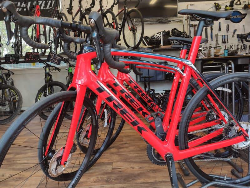 bike rental shop - new road bikes!