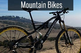 Mountain Bikes - Rent at Santa Barbara Bikes-to-go