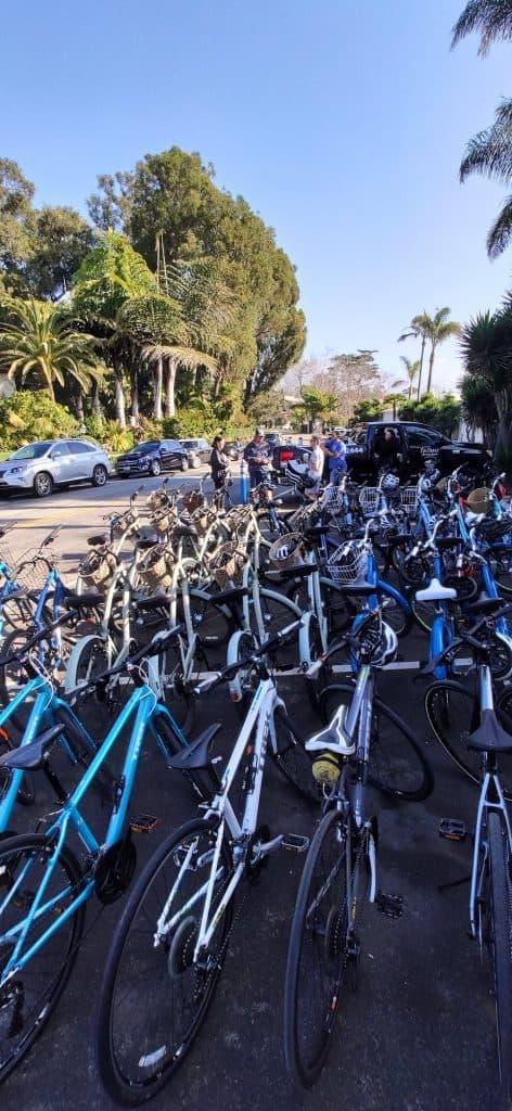 santa barbara bikes to go company event