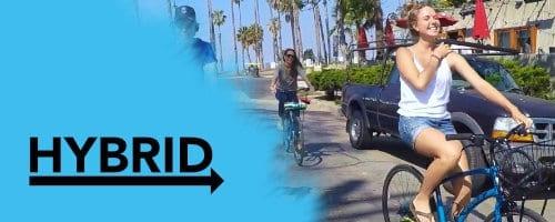hybrid bike rentals